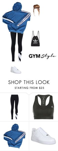 """""""gym style"""" by ericanunes on Polyvore featuring adidas Originals, adidas and NIKE"""