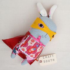 Super Frilly Bunny! - handcrafted south shop