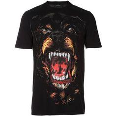 Givenchy Rottweiler Dog Print Tee