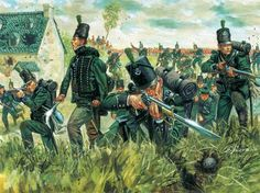 British 95th Rifles in Spain