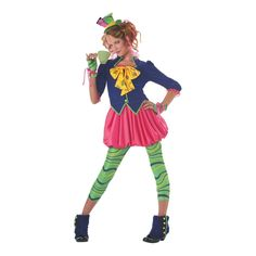 Mad Hatter Halloween Costume for Teen Girls