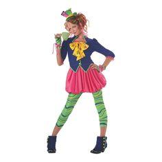 Mad Hatter Halloween Costume for Teen Girls