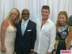Ladies and gentlemen — your first look at the brand-new X Factor judges' panel! - May 13, 2012