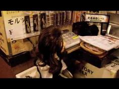 A Monkey that is a Waitress  - Fukuchan the waitress. Kayabuki restaurant in Utsunomiya