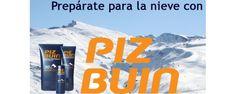 """¿Vas a esquiar? Protege tu piel de las duras condiciones de frío, viento y sol con los #bronceadores especiales de montaña de la marca Piz Buin España. La linea """"Mountain"""" incorpora una innovadora y avanzada formulación para condiciones de gran altitud."""
