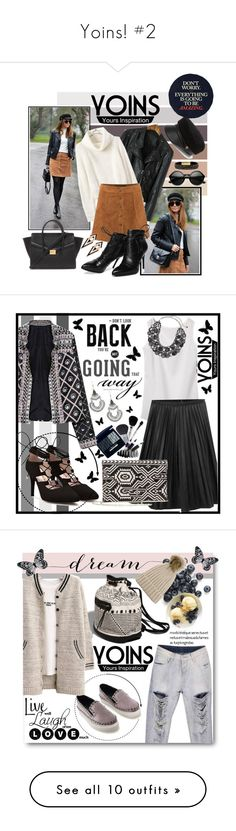 """""""Yoins! #2"""" by ina-kis ❤ liked on Polyvore featuring yoins, loveyoins, Eugenia Kim, Forever 21, Morea, vintage, yoinscollection, Chico's, white and black"""