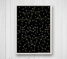 Get their name written in the stars with a custom print.