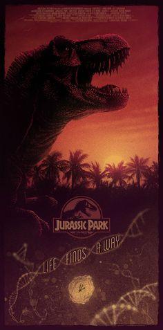 Jurassic Park (1993) [1295 × 2619]