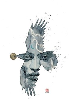 American Gods: Shadows #1 - Variant cover by David Mack