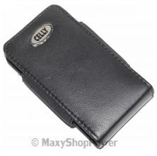 CELLY CUSTODIA ORIGINALE FONDINA CINTURA CLIP SLIM01BF UNIVERSALE BLACK NERA SIMIL ECO PELLE - SU WWW.MAXYSHOPPOWER.COM