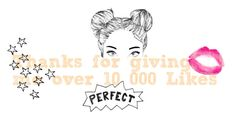 """""""Thanks for giving me 10,000 Likes<3"""" by lizha-808 ❤ liked on Polyvore featuring art"""