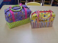 zipper top lunch tote by sewing steph