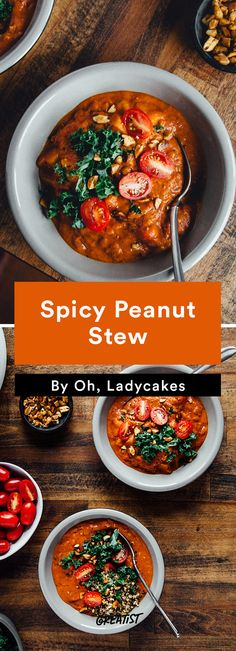 2. Spicy Peanut Stew #vegan #dinner #recipes http://greatist.com/eat/savory-vegan-recipes-even-meat-eaters-will-love