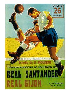 Futbol Promotion Pósters por Lantern Press en AllPosters.es