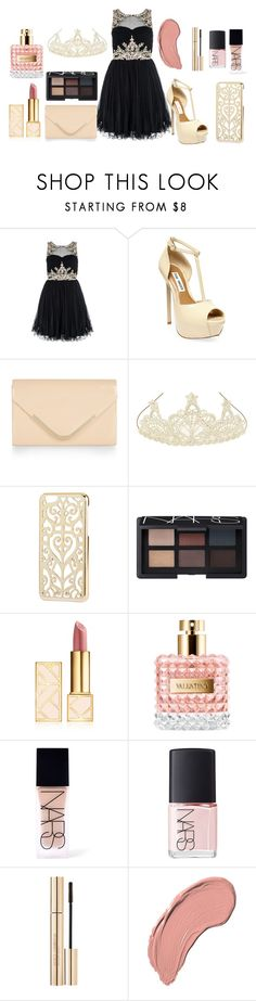 """""""Ball style"""" by tess-302 ❤ liked on Polyvore featuring Steve Madden, Accessorize, Monsoon, H&M, NARS Cosmetics, Tory Burch, Dolce&Gabbana and NYX"""