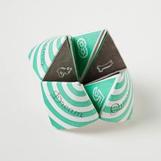 Letterpress Fortune Teller(coody catcher)  by Stephanie Lynne Ford