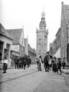 Monnickendam , town in The Netherlands Stunning Vintage Pictures of Everyday Life in 1904