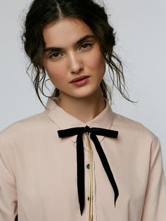 Free People Bow Tie Bolo Necklace at Free People Clothing Boutique