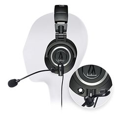 Audio-Technica Professional Studio Headphone - Includes - Antlion Audio ModMic 4 Attachable Boom Microphone - Noise Cancelling w/Mute Switch and Blucoil Y Adapter - Ultimate Gaming Bundle Wireless Headphones Review, Wireless Headphones For Running, Audiophile Headphones, Waterproof Headphones, Studio Headphones, Gaming Headphones, Best Headphones, Best Noise Cancelling Earbuds, Cell Phone Accessories