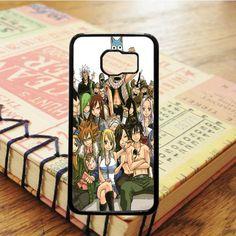 Fairy Tail Members Anime Cartoon Samsung Galaxy S7 Edge Case