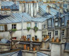 """Quand on parle pour les toits de Paris, on ne peut pas maquer à se rappeler de ce qui se passe """"Sous les toits de Paris"""". Des vies quotidiens, des gens tout comme nous et..."""