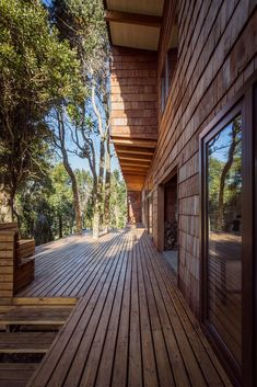 Image 6 of 19 from gallery of Casa LM / Juan Pablo Labbé. Photograph by Pancho Gallardo Deck, Exterior, Gallery, Building, Places, Outdoor Decor, Image, Chili, Home Decor