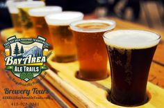 Bay Area Ale Trails breweries in each region