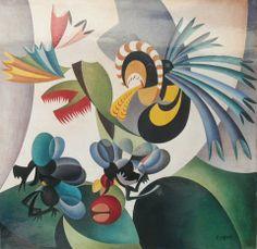 Fortunato Depero (1892-1960) - Dance Chiofissi, 1918