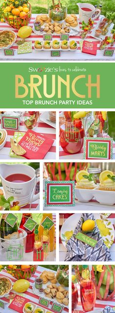 Swoozie's loves celebrating Brunch! Here are some top brunch party ideas to putting together the perfect brunch for you and your brunch squad! Shop Let's Do Brunch online for these entertaining essentials and more!