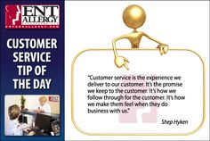 #Customer service is a #promise to our #patients and #customers #hyken