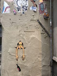 Street art Gothic Quarter Barcelona