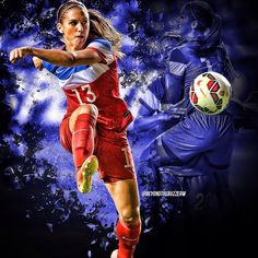 Alex Morgan scored 2 goals in a 8-0 win over Mexico on Sep. 13 & 1 goal in…