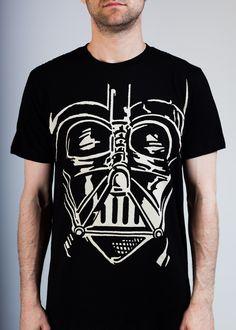 Star Wars Darth Vader Face - Always liked this Darth Vader t-shirt.