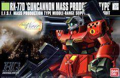 HGUC 1/144 scale RX-77D Guncannon Mass Production Type