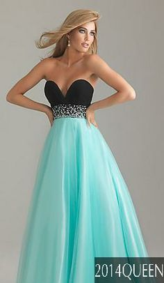 Blue Sweet 16 Party Dresses