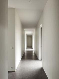 poured concrete floor shadow gaps