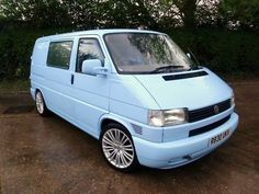 Volkswagen T4 Light Blue Van