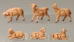 12 Fontanini Sheep - 3.5'' Collection by Gordon Companies, Inc. $66.00. Shipping Weight: 2.00 lbs. This product may be prohibited inbound shipment to your destination.. Brand Name: Gordon Companies, Inc Mfg#: 30695641. Please refer to SKU# ATR25770282 when you inquire.. Picture may wrongfully represent. Please read title and description thoroughly.. 12 Fontanini Sheep - 3.5'' Collection/comes individually boxed/ largest: 2''H x 2.25''W x 1''D, smallest: 1.25''H x 1.65''W x ....