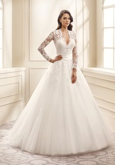 Eddy K EK1072 Ball Gown Wedding Dress