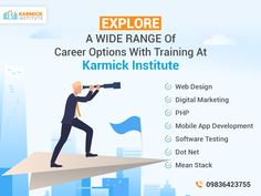 Get noticed easily among the crowd of job hunters with any professional course from our Institute. Apart from theoretical knowledge we also provide practical training to teach you the industry skills & be confident of them.