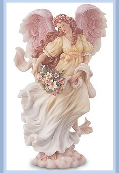 1997 introduction - Chloe - she is my first angel. Seraph Angel, I Believe In Angels, Angel Pictures, Angels Among Us, Crystal Rose, Angel Ornaments, Colouring Pages, Christmas Angels, Craft Ideas