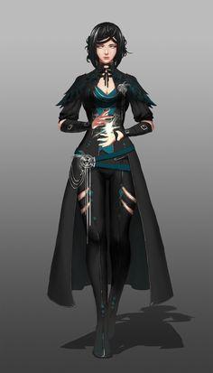 ArtStation - Character Design, Vu Anh