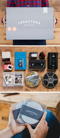 Moving soon? Legacybox is your perfect storage and organization solution. Fill Legacybox with your home movies, photos, film and audio, and we'll send it back with all of your precious moments digitally preserved on DVDs and thumb drives.