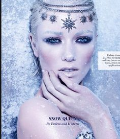 Snow queen with jewels!