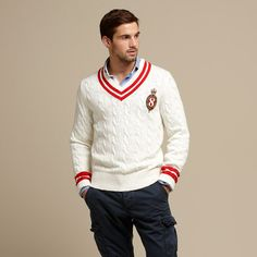Cricket sweater. I want this for when cycling into work on cool, spring mornings #tommy