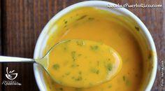 Salsa de Parcha Fruit Sauce, Meat Sauce, Banana Verde Frita, Bananas, Pesto, Medifast Recipes, Boricua Recipes, Passionfruit Recipes, Passion Fruit Juice