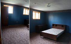 Webisode Guest Bedroom Before - Sarah Richardson Lowe's Renovation (before)