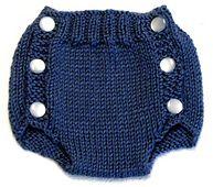 Diaper cover knitting pattern