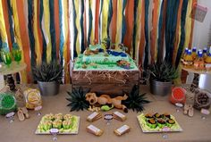 {Save the Date Events} Lion King inspired 2nd birthday party