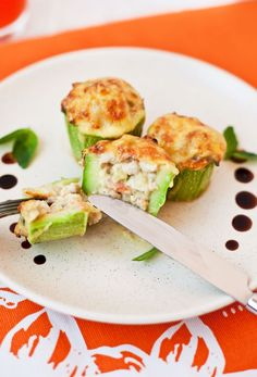 Plnené cukety Avocado Toast, Sprouts, Cucumber, Zucchini, Sushi, Vegetables, Breakfast, Ethnic Recipes, Food